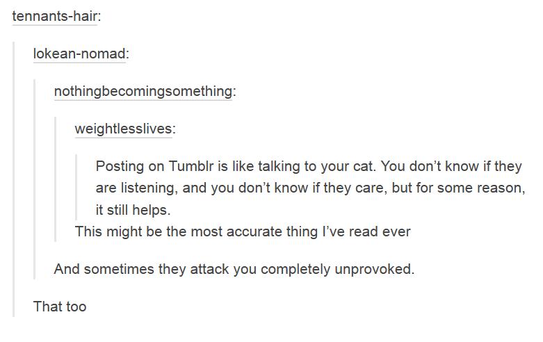 Die schrägsten Gedankenspiele findet man immer noch auf Tumblr
