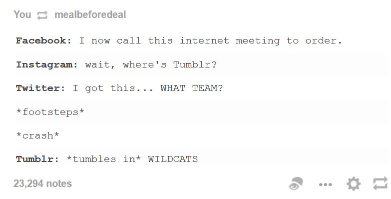 Tumblr, der Außenseiter der sozialen Medien